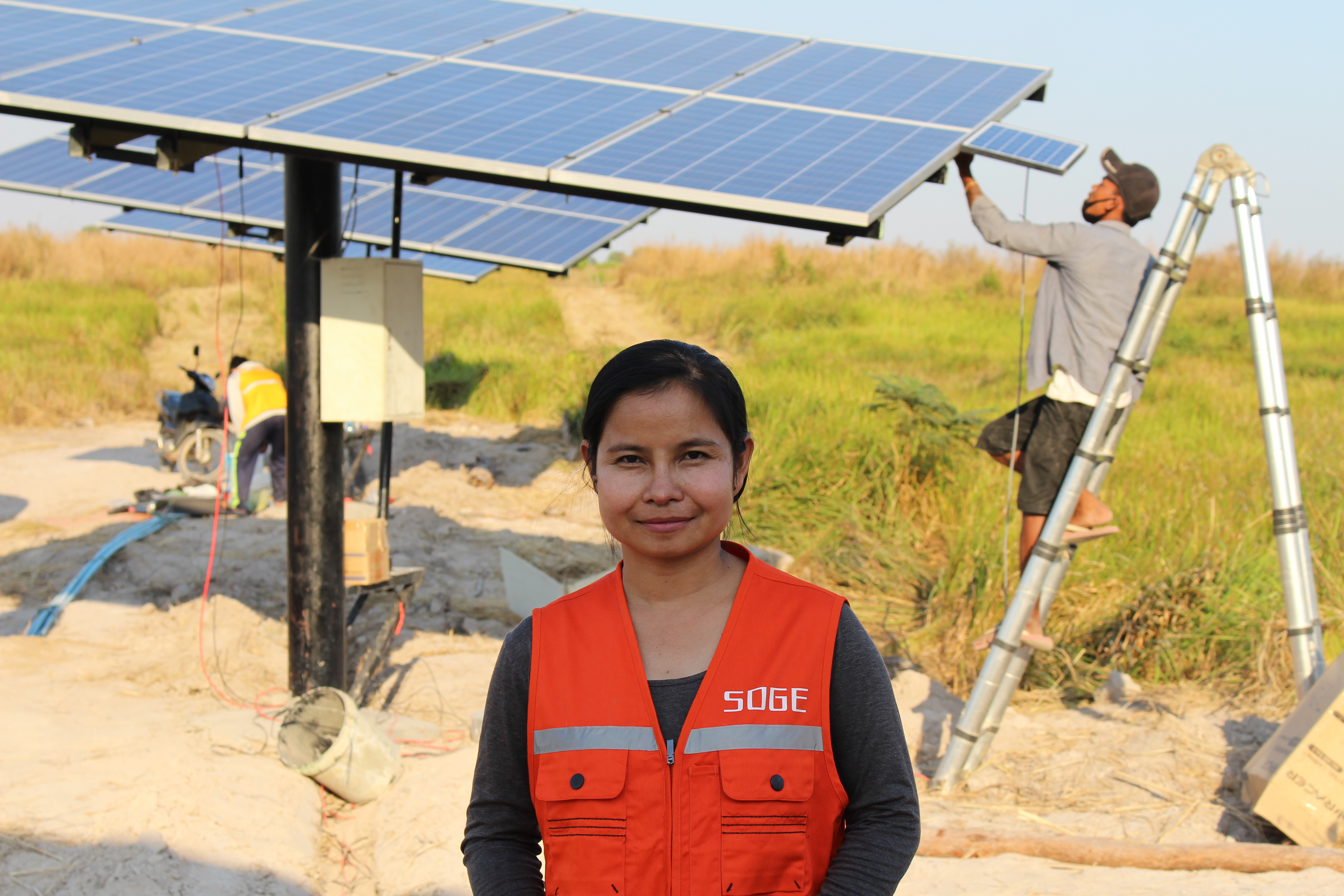 Leading the way in solar green energy: Thida's journey