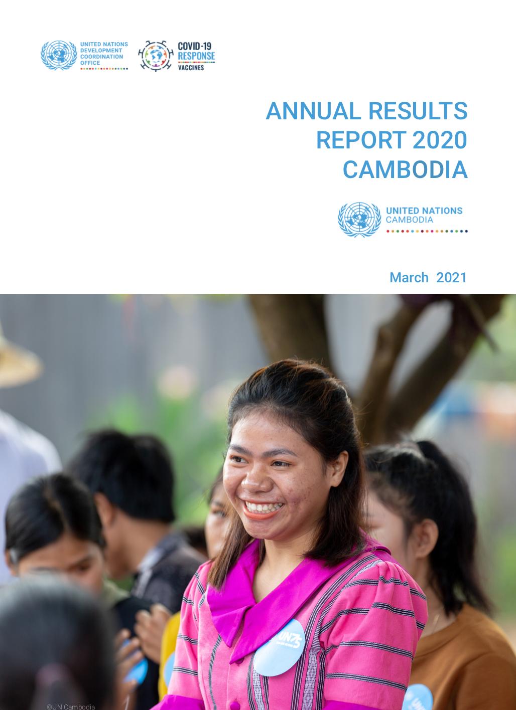 Annual Results Report 2020 Cambodia